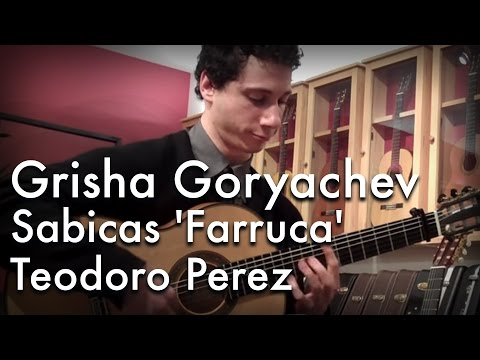 Sabicas 'Farruca' played by Grisha Goryachev