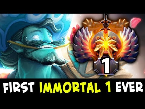 FIRST IMMORTAL 1 Rank in Dota history — vanN