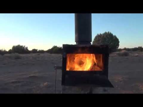 Gasifier wood stove prototype P#2 in action with afterburner - Gasifier Wood Stove Prototype P#2 In Action With Afterburner - YouTube