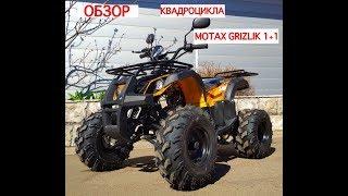 Обзор на квадроцикл MOTAX ATV GRIZLIK 1+1