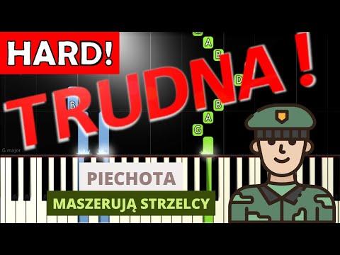 🎹 Piechota (pieśń patriotyczna) - Piano Tutorial (TRUDNA! wersja) 🎹