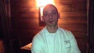 Rencontre impromptue avec Hervé Cune, Chef au restaurant des Jardin...