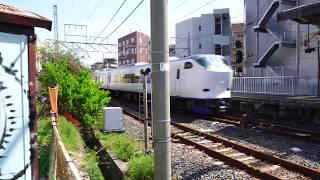 SONY α6500 動画・音声・手振補正テスト  鉄道動画 4K 録音レベル手動