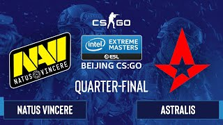 CS:GO - Astralis vs. Natus Vincere [Inferno] Map 2 - IEM Beijing 2020 Online - Quarter-final - EU
