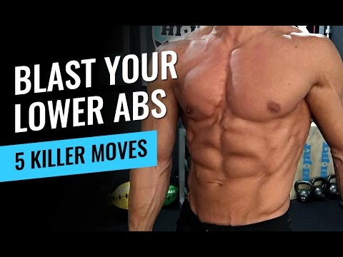 5 Killer Moves to Blast Your Lower Abs – Jump Rope Workout