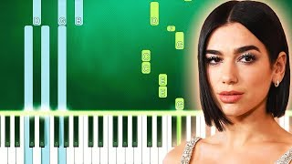 Dua Lipa - Future Nostalgia (Piano Tutorial Easy) By MUSICHELP