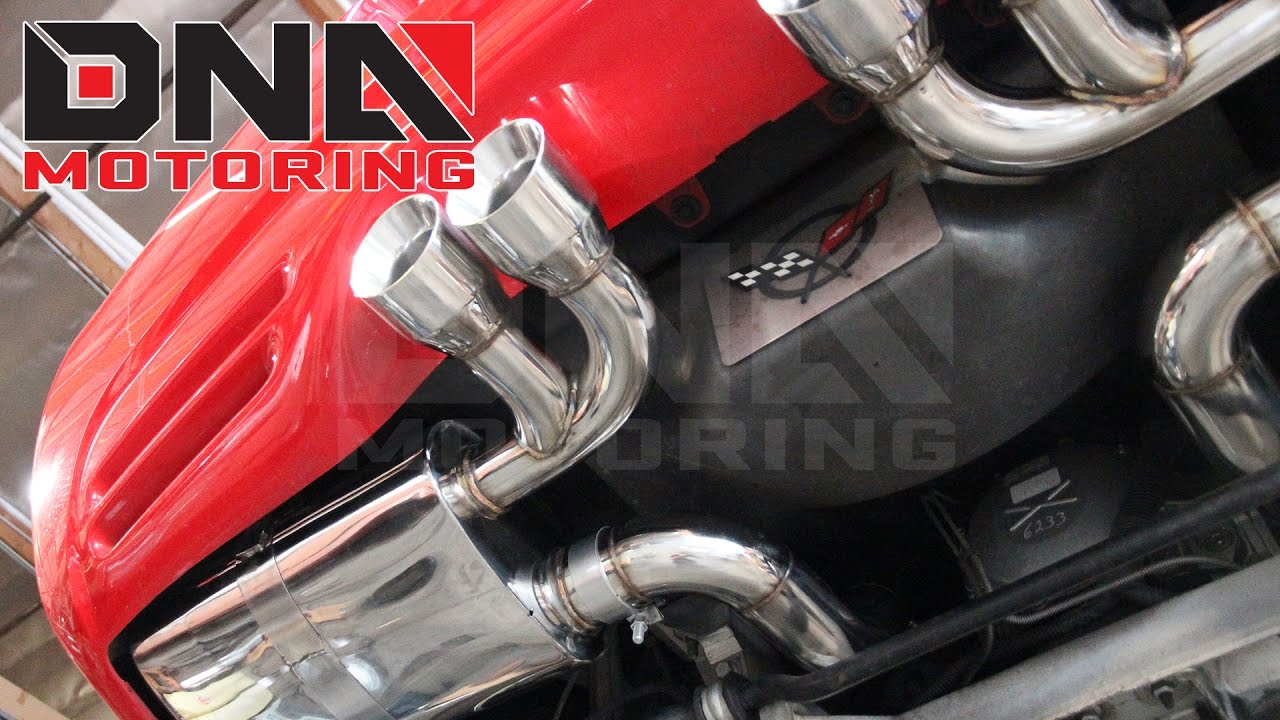how to install 97 04 chevy corvette c5 ls1 v8 catback exhaust