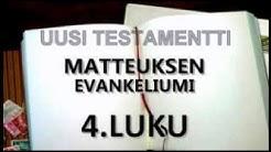 MATTEUKSEN EVANKELIUMI (KÄÄNNÖS 33/38)