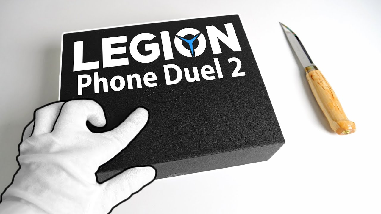 A Different Kind of Gaming Smartphone... Legion Phone Duel 2 Unboxing + Gameplay