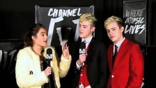 Jedward Interview on Channel V 24.04.2013