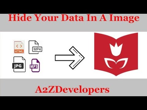 How To Hide Data(mp3,png,html,mp4) In A Image |A2ZDevelopers from YouTube · Duration:  5 minutes 47 seconds