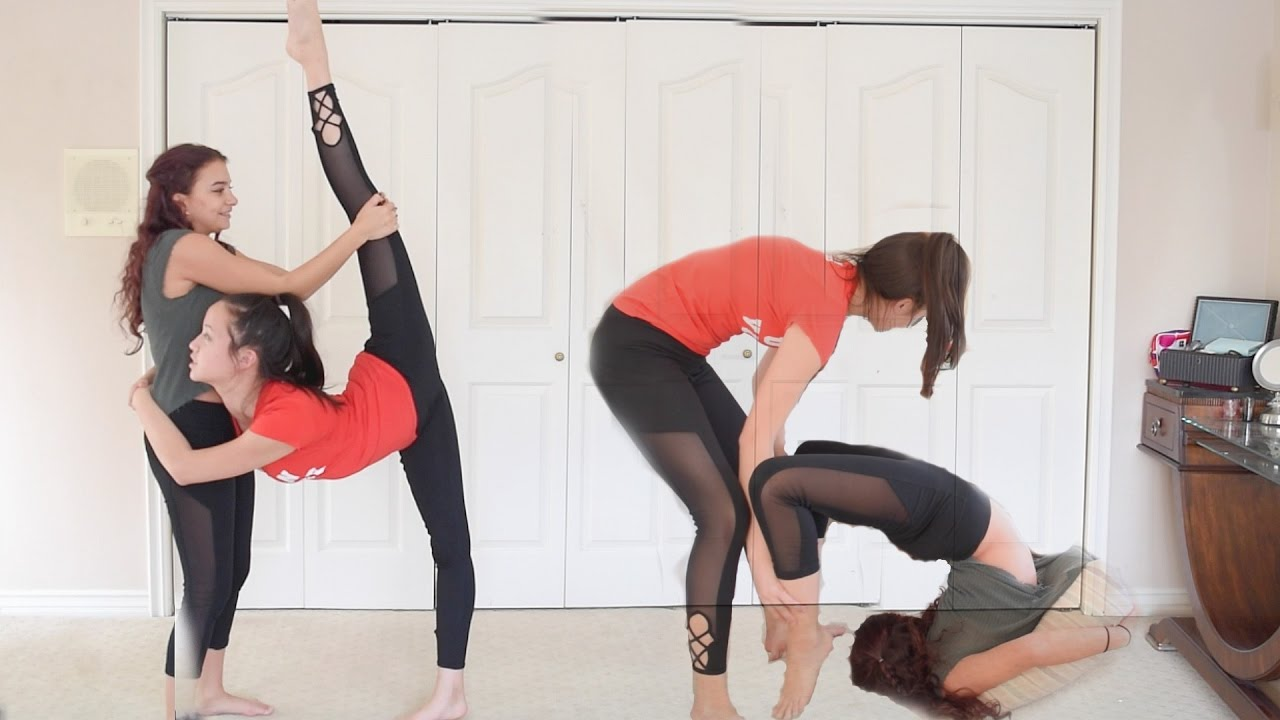 Partner Stretches To Get Very Flexible Youtube