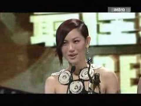 Kate Tsui won the 27th HKFA Best New Performer Award (HQ)