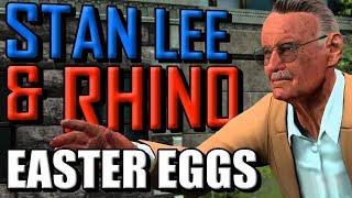 The Amazing Spider-Man 2 | Stan Lee & Rhino Easter Eggs