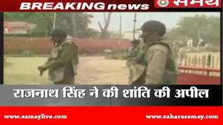 jat quota agitation turns violent army called in one killed