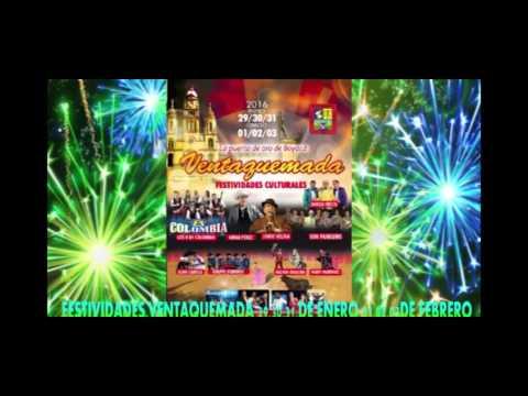 Fiestas en ventaquemada Boyaca 2016