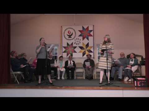 Radio Theater 2017 at First Parish Church, UU, Kingston, MA