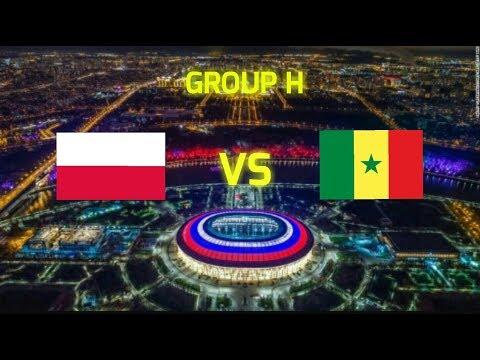 Poland vs Senegal - Group H - PES 2018 PPSSPP