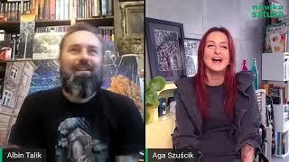 LIVE STUDIO Nówki Sztuki - Aga Szuścik zaprasza: Albin Tallik