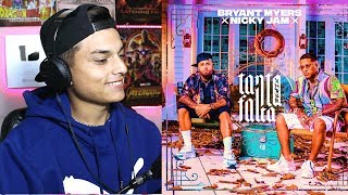 Reaccion Bryant Myers - Tanta Falta  Feat. Nicky Jam    Themaxready