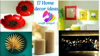 17 home decor ideas | art and craft | 5 minute crafts | craft | diy crafts | diy | Amazing pixies