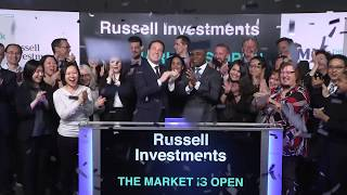 Russell Investments opens Toronto Stock Exchange, February 5, 2020