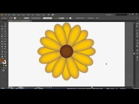 How to use Illustrator to Draw a Flower