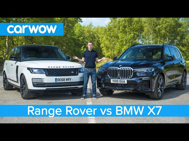 BMW X7 vs Range Rover - see which is the best luxury SUV?