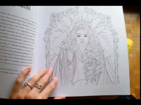 Lunar Chronicles Coloring Book Youtube