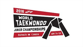 2016 World Taekwondo Junior Championships - Day 2 (Semi-finals, Finals, Award Ceremonies)
