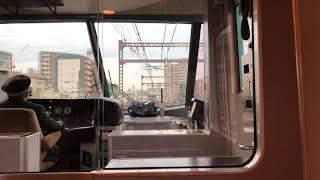 JR特急くろしお1号 車窓(大阪環状線内)2019/01/10