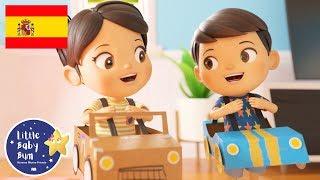 Canciones Infantiles | En el Coche nos Vamos | Dibujos Animados | Little Baby Bum en Español