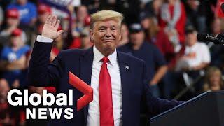 U.S. President Trump holds rally in Minneapolis, Minnesota