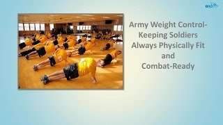 HOW TO LOSE WEIGHT | Army Weight Control - Keeping Soldiers Always Physically Fit