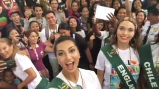 Anzhelika Tahir representing Miss Earth Pakistan 2016 in the City of Butuan, Philippines