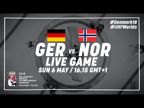 Germany - Norway | Full Game | 2018 IIHF Ice Hockey World Championship