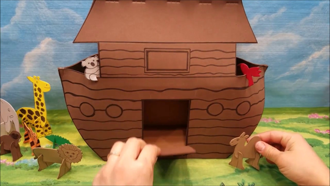 Noah's Ark - Bible Crafts