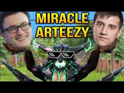 MIRACLE ARTEEZY - Outworld Devourer SURE WIN HERO Dota 2