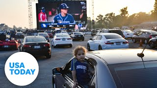 Dodgers Stadium hosting drive-in World Series | USA TODAY