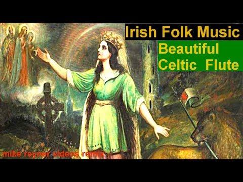 Best Celtic Folk Music, Beautiful Irish Flute Acoustic Guitar Country Folk Song Inisheer!