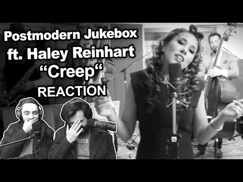 Postmodern Jukebox ft Haley Reinhart  Creep Singers Reaction