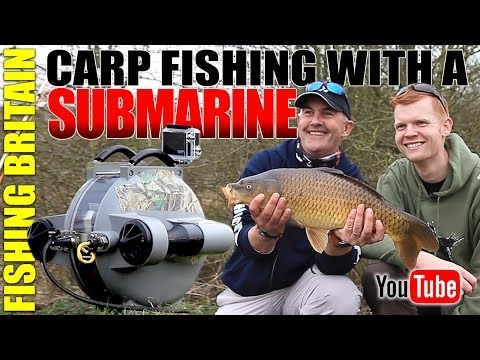 Carp Fishing With A Submarine - Fishing Britain episode 13