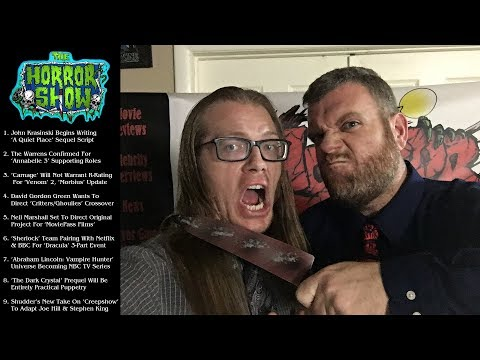 The Horror Show News with Booze - October 21st, 2018