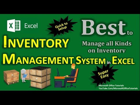 Inventory Management | Excel Inventory Management (Super Easy)