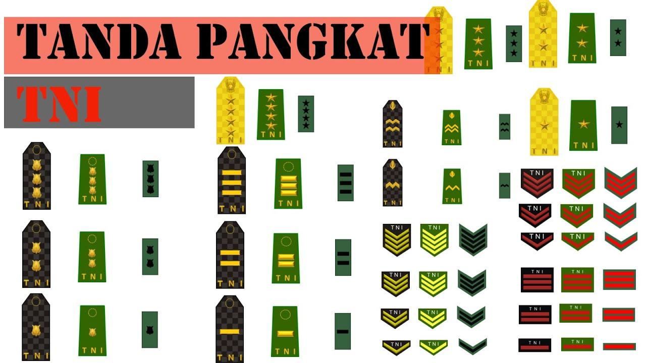 Download Tanda Pangkat TNI