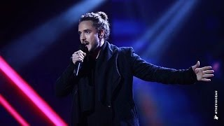 Jackson Thomas sings Kiss From A Rose | The Voice Australia 2014