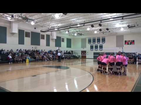 RCA vs Franklin Classical School MTAC Volleyball Championship 2016 SET 4