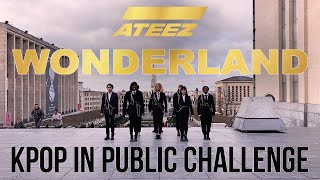 [KPOP IN PUBLIC CHALENGE] ATEEZ(에이티즈) -'WONDERLAND'- Dance cover by Move Nation & The Aim (Belgium)