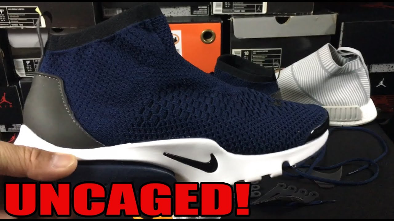 f14a1dc9ec545 Sneaker Custom  Uncaging The Nike Air Presto Ultra Flyknit (NMD CS1 Look)