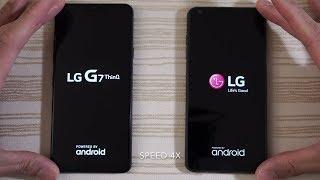 LG G7 ThinQ vs LG G6 - Speed Test!